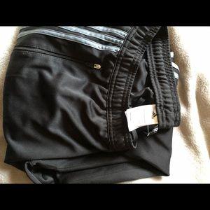 Adidas men's sweatpants XL used zipper ankle
